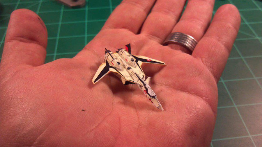 Robotech/Macross YF-19 Veritech (Fighter mode) by Dented-Rick