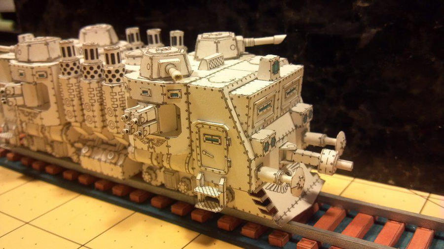 Warhammer 40K - Locomotive by Dented-Rick