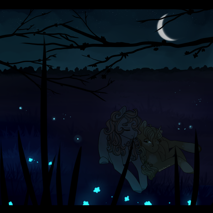 Charming night. [collab] by WonderBlue2004