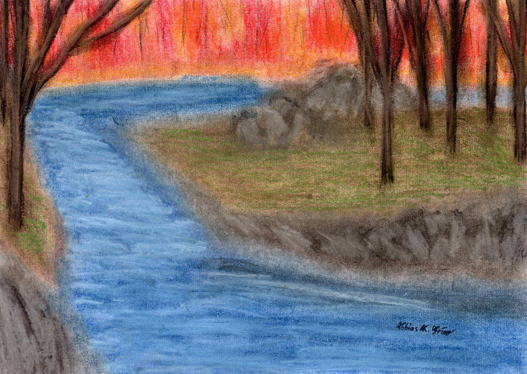 Autumn Forest - Riverbend