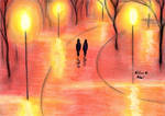 Walking together amidst the Latern's Light