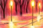Path in Lantern's Light