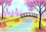 Spring Blossom Bridge