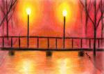 Lanterns on the Bridge