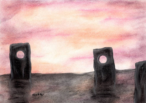 Mystical Stone Stele