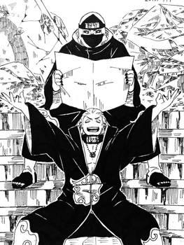 akatsuki hidan and kakuzu