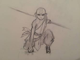 Aang by TomWardTheApprentice