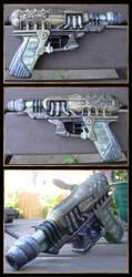 Steampunk Gun Mod 2 by iatesatan