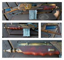 Steampunk Gun Mod 4 by iatesatan