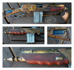 Steampunk Gun Mod 4