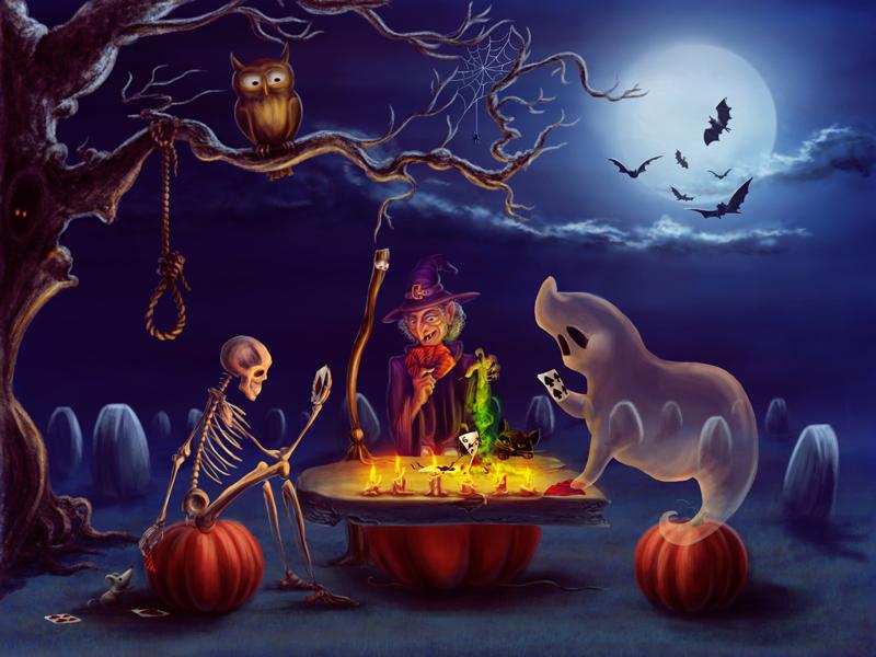 Halloween by qi-art