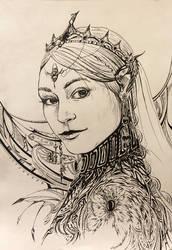 princess by qi-art