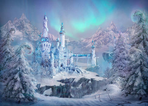 The castle of the Snow Queen