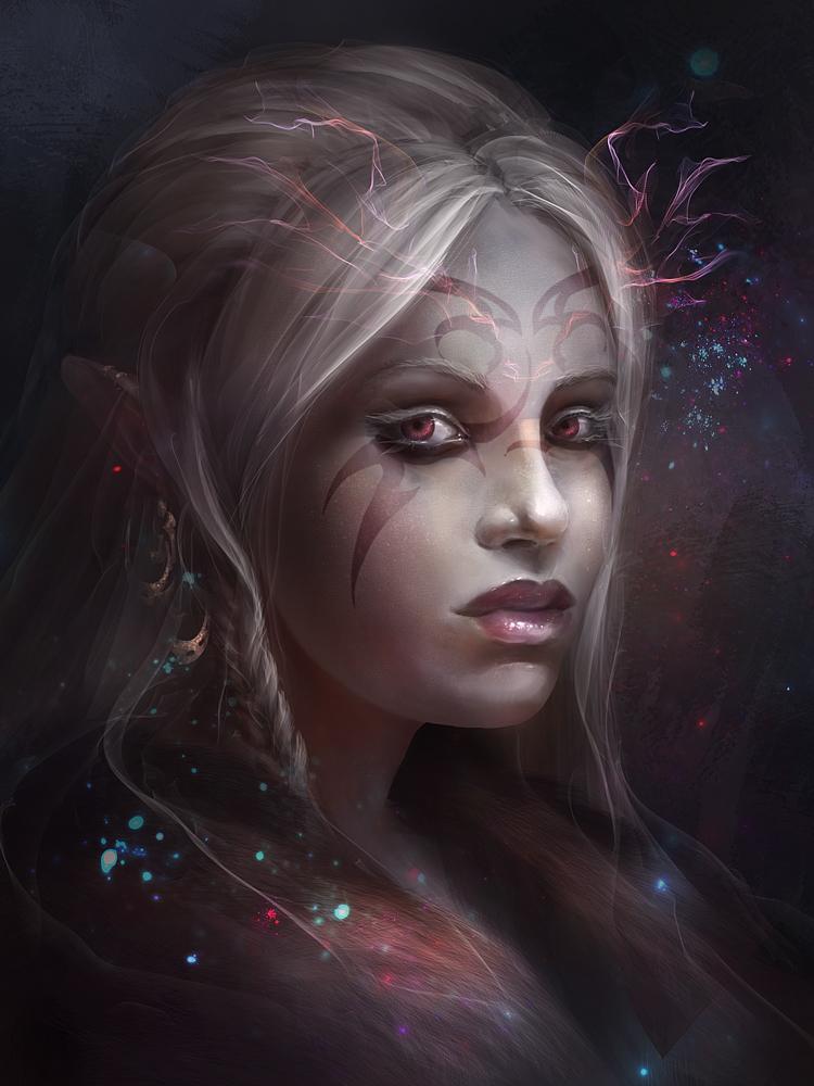 Dark Elf by qi-art