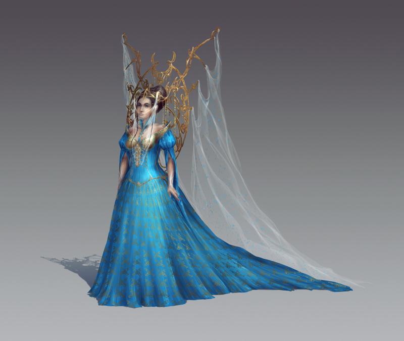 Wedding Dress by qi-art
