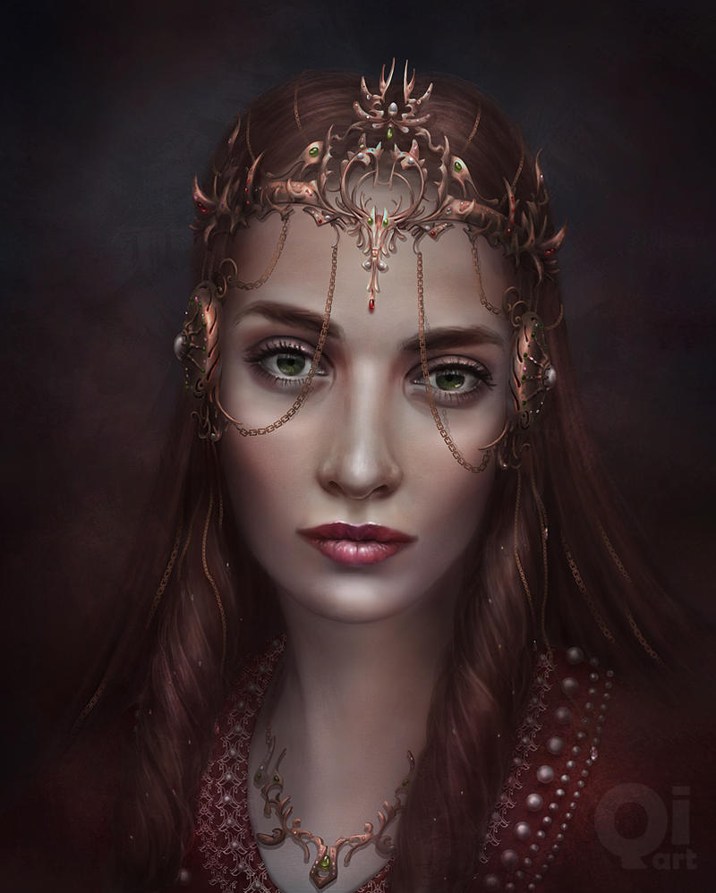 dark princess by qi-art