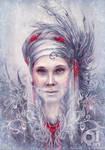 White portrait 2