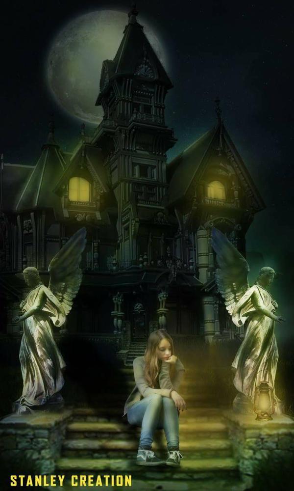 haunted sadness