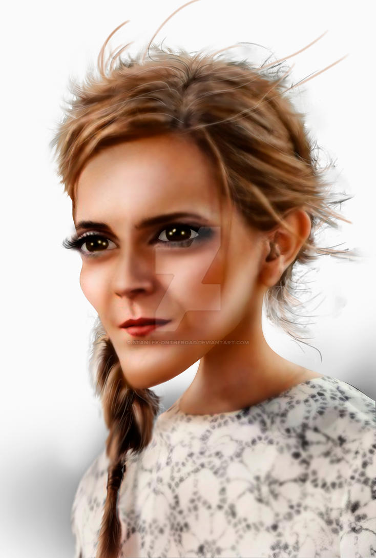 Emma Watson Branco by Stanley-ontheroad