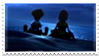 Stamp: Young Sora and Riku by troisnyxetienne