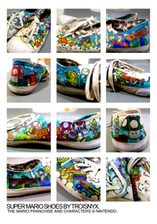 Super Mario Shoes by troisnyxetienne
