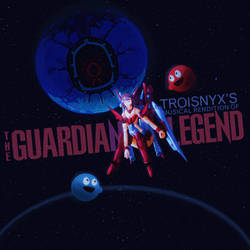 Mockup Album Cover: The Guardian Legend