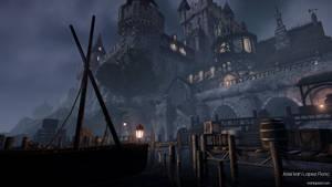 Night Castle Environment - CryEngine - Shot 02