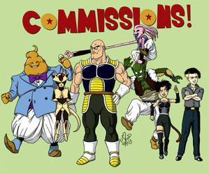 Dragon Ball Commissions!