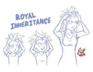 DBZZ - Royal Inheritance