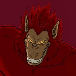 ID - Red Oozaru
