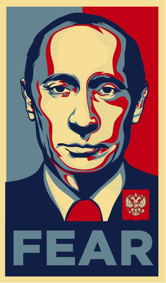 Fear Putin by charlieclark