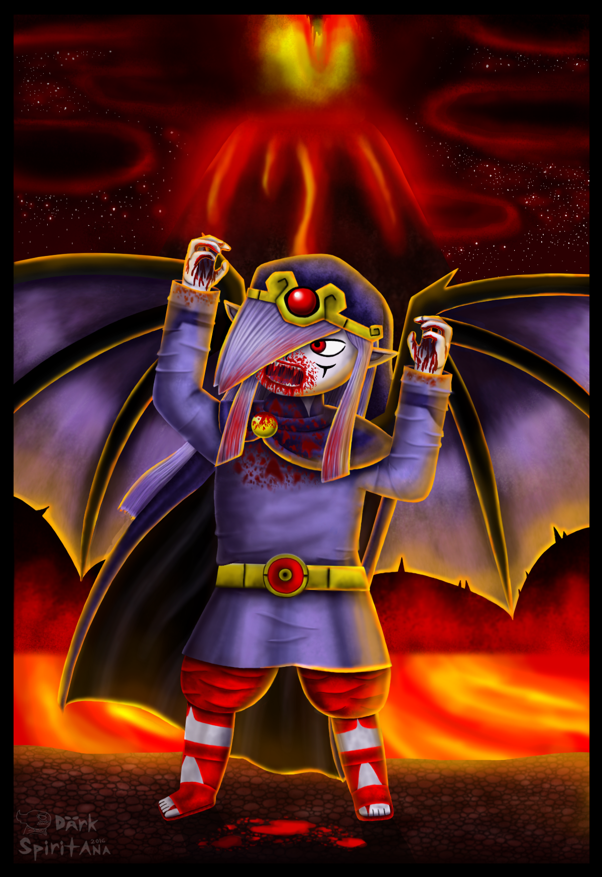 .:A Demon's Fate:. by DarkMageVarja