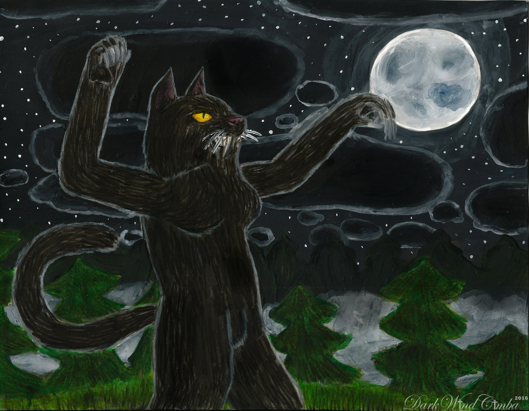 Bad Kitty by DarkMageVarja