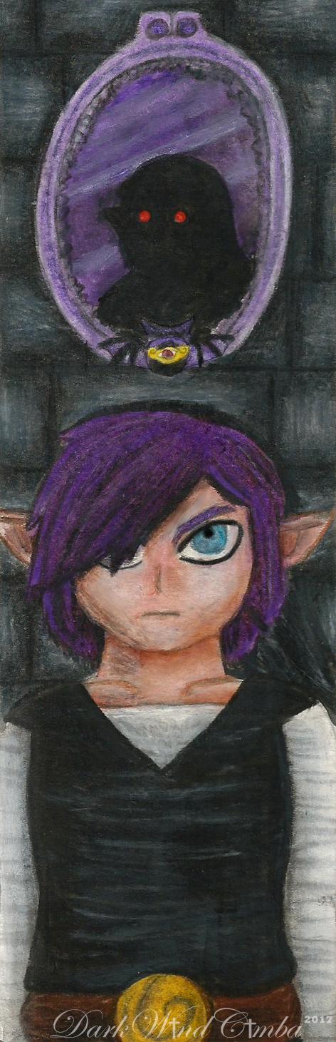 Shadow Link bookmark by DarkMageVarja