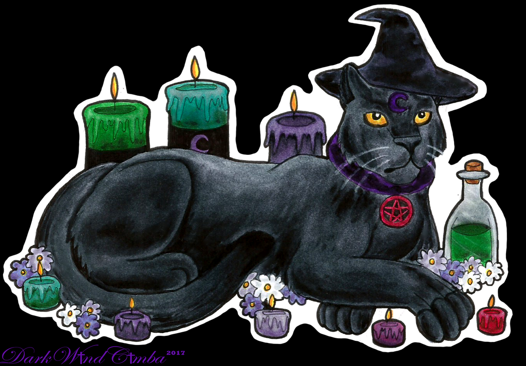 Magic Leopard sticker by DarkMageVarja
