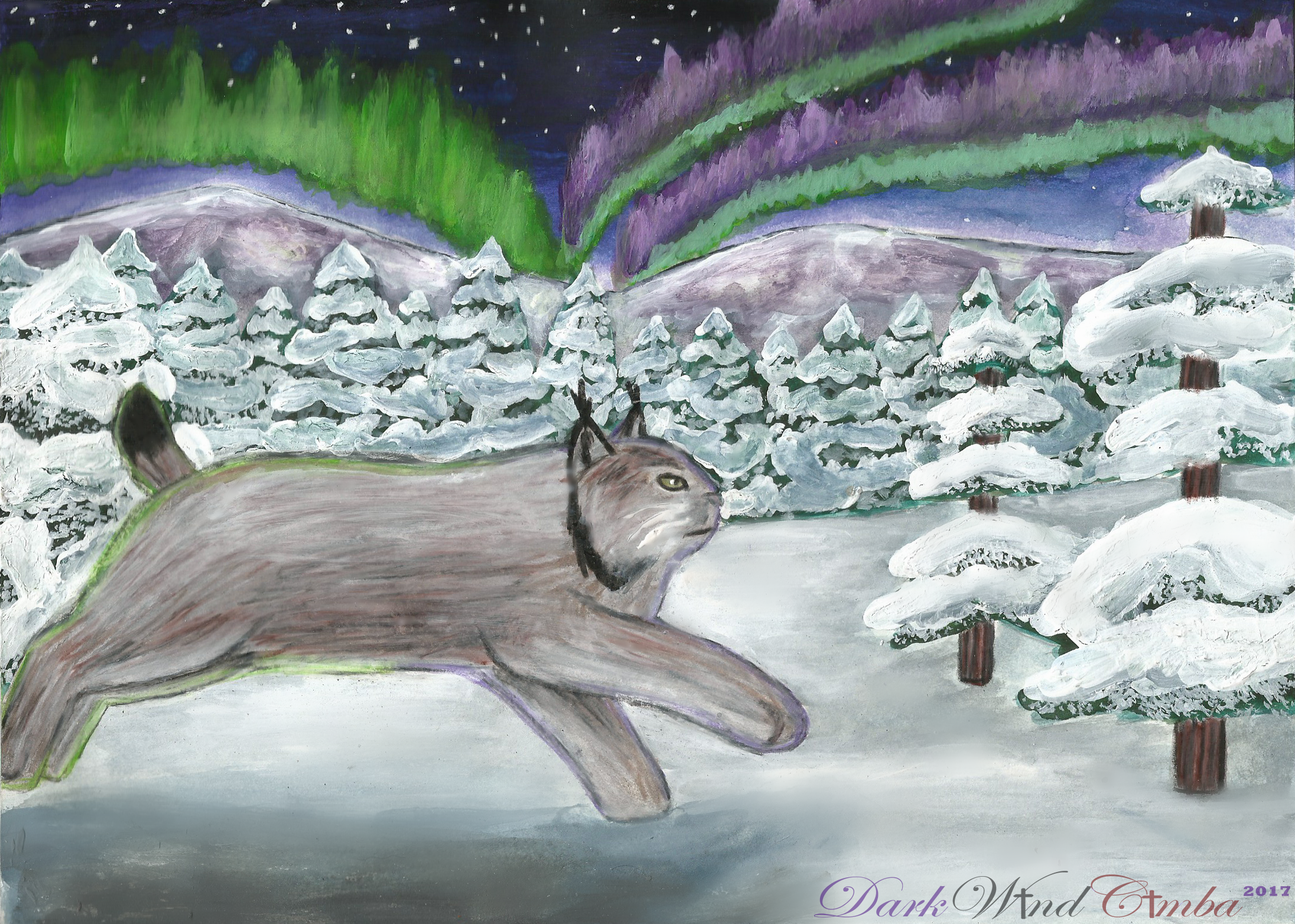.:Aurora Borealis:. by DarkWindCimba