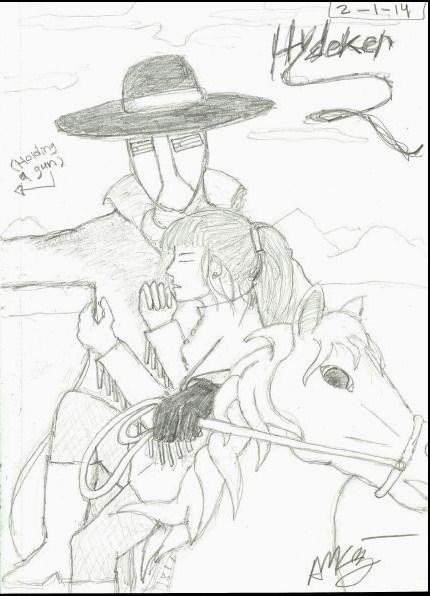 Hydeker - sketch1 by RobotProphet