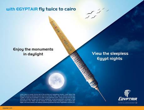 Egypt air double daily