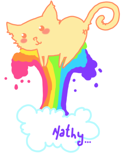Kitty Rainbow by SNathy