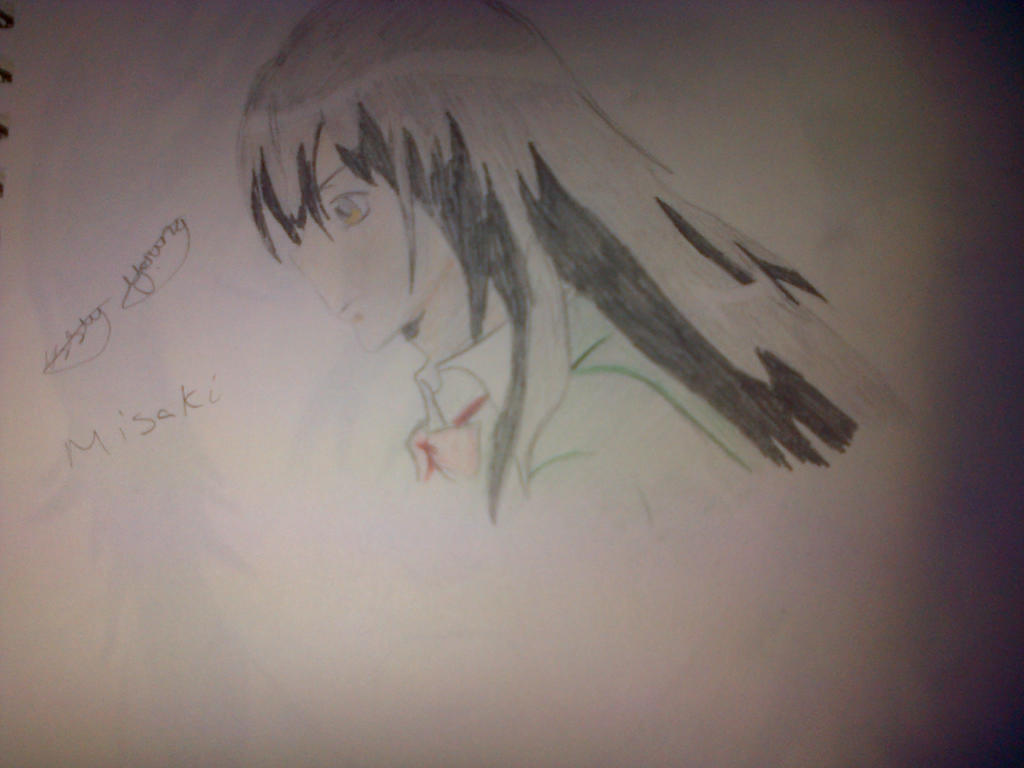 Misaki (maid sama) drawing by epicbubble7