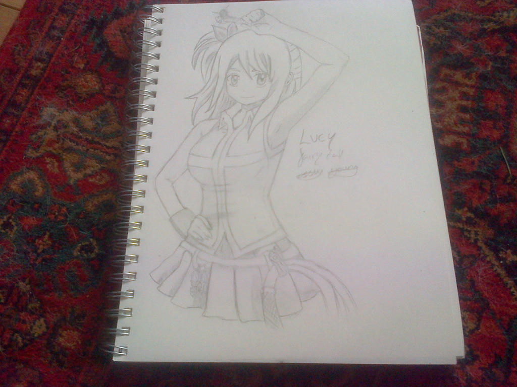 Lucy (Fairy Tail) by epicbubble7