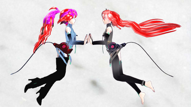 MMD Asuna Pose (SAO and Reality) by epicbubble7