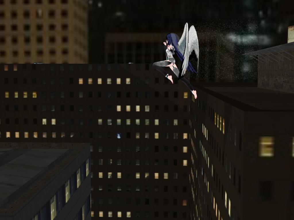 MMD Leap of faith by epicbubble7