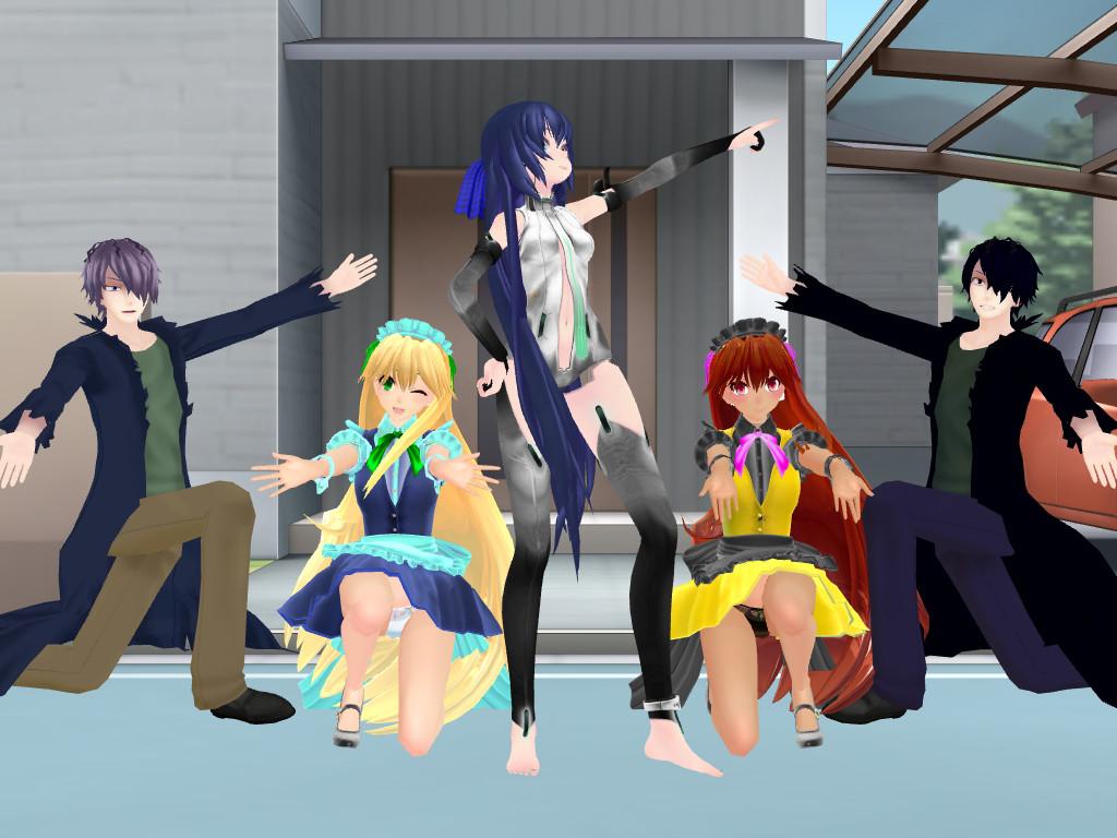 Haruhi Suzumiya pose (dl maybe?) by epicbubble7