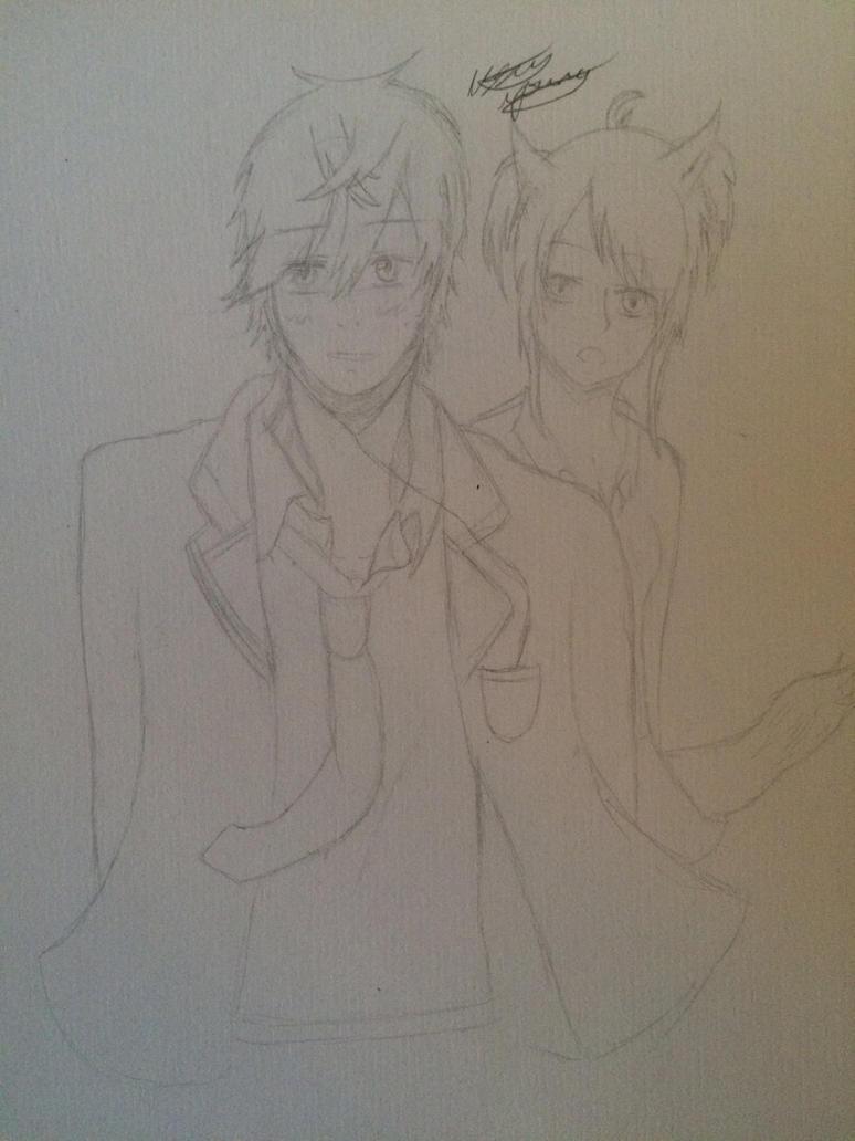 Random couple by epicbubble7