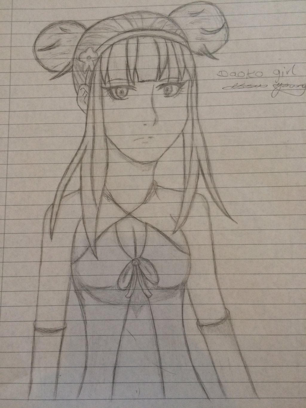 Daoko girl drawing by epicbubble7