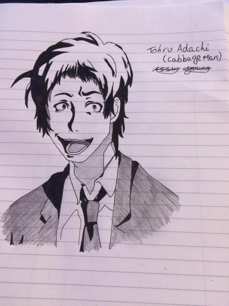 Tohru Adachi Completed  by epicbubble7