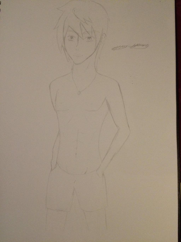 Swim wear guy  by epicbubble7