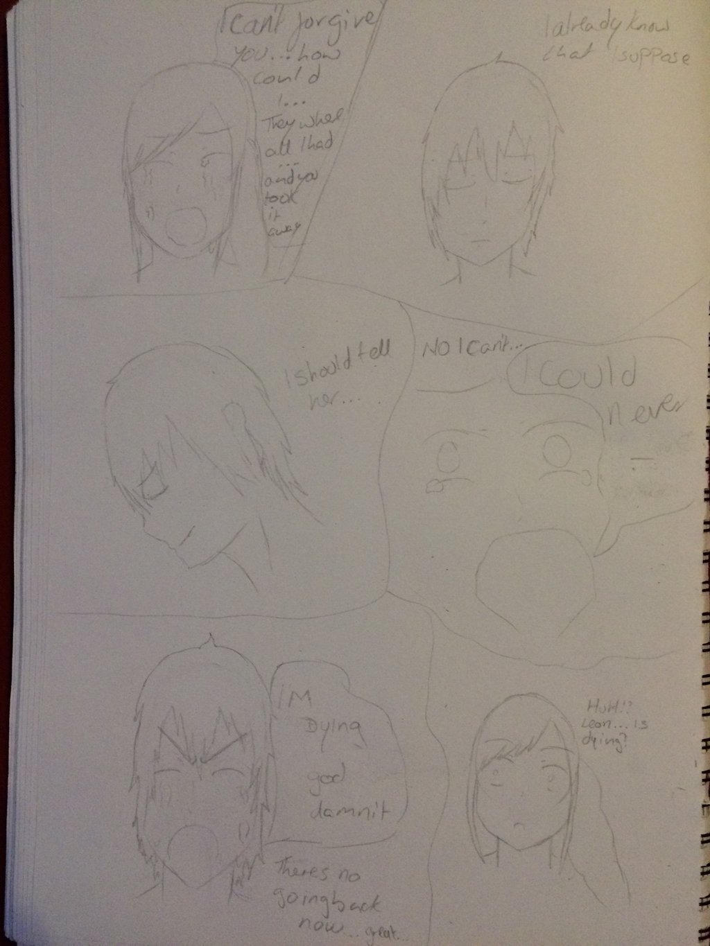 Second page of my story by epicbubble7