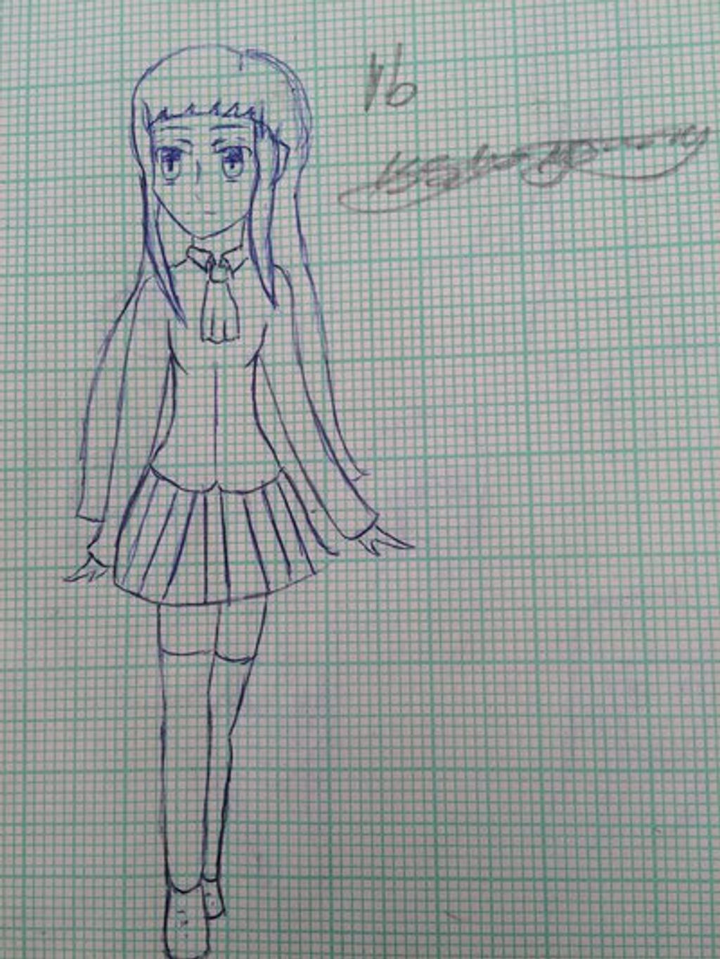 Ib sketch by epicbubble7